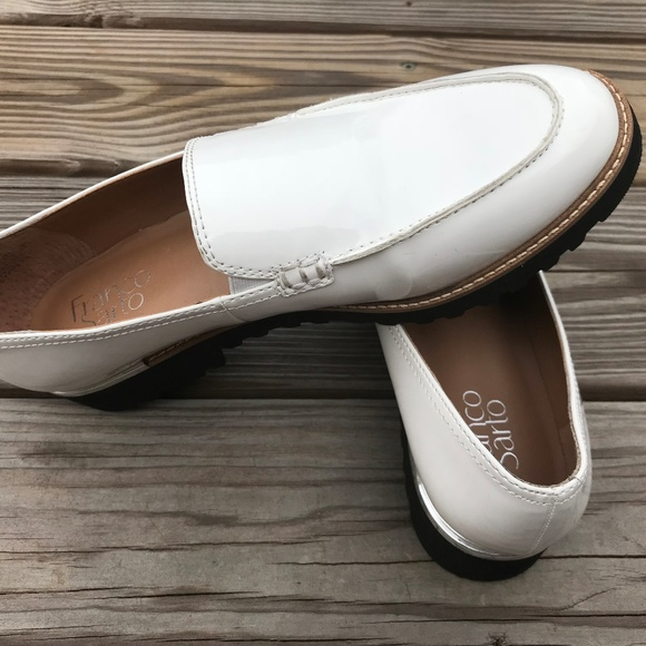 8b4d8de85f Franco Sarto Shoes - Franco Sarto Cypress Women Loafer White Shoes